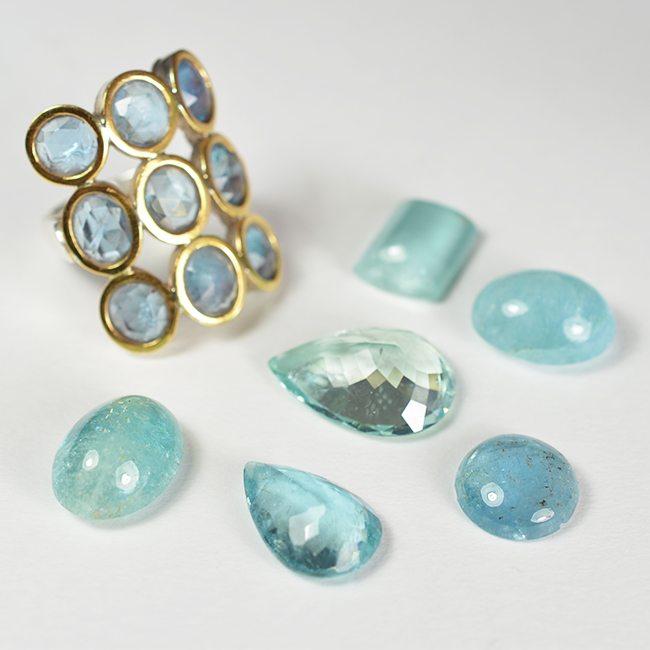 ethics of producing coloured gemstone jewellery
