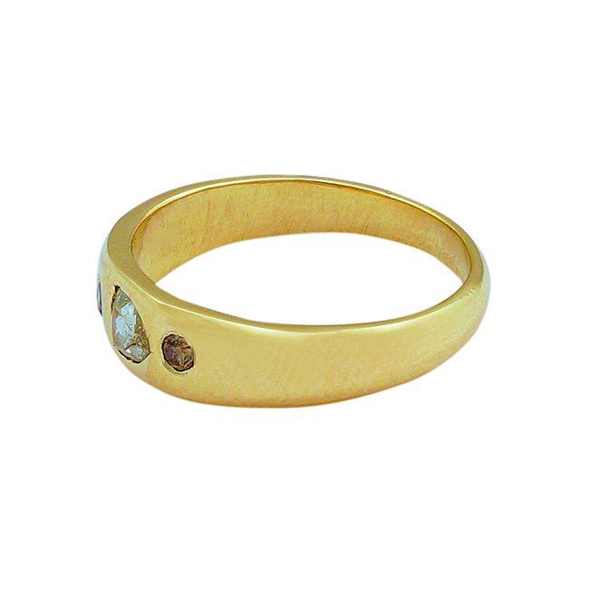 gold celebration ring diamond