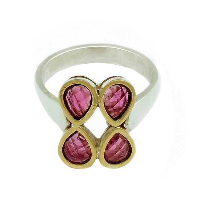 Pink Tourmaline Ring Small