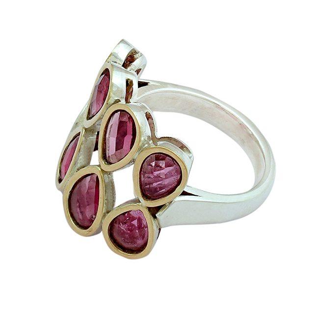 Pink Tourmaline Ring Tara