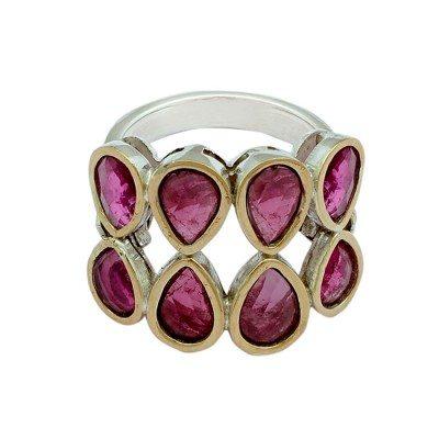 Pink Touramlaine Ring Tara