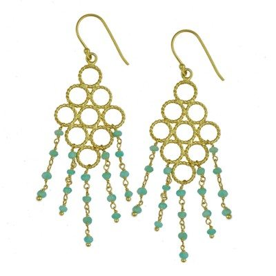Sofia Earrings Amazonite