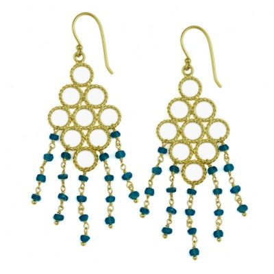 Sofia Earrings Apatite
