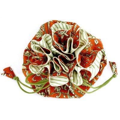 Travel Jewellery Bag Terracotta