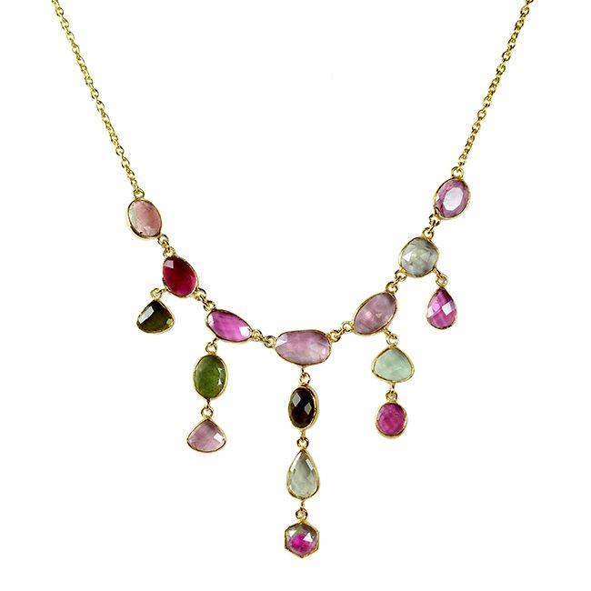 Multi Tourmaline Necklace Tara