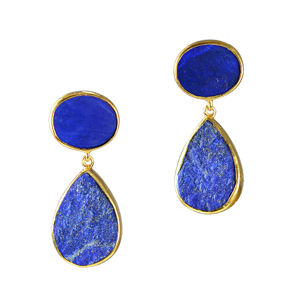 bychari lapis c mini earrings products earring