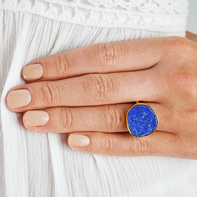 lapis lazuli ring tallulah