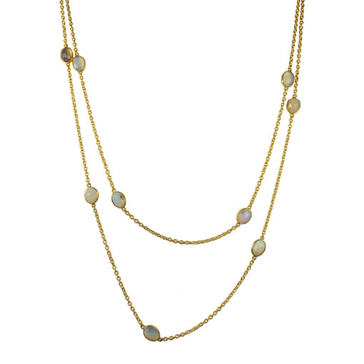 long opal necklace tara
