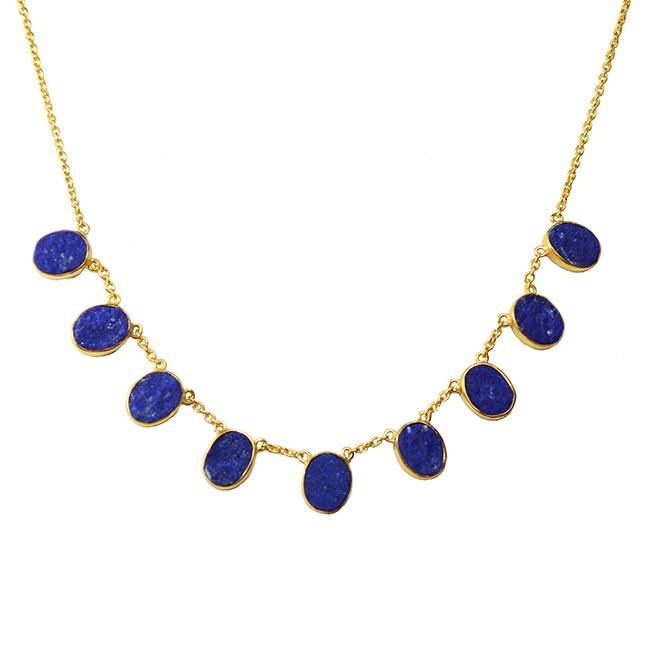 lapis lazuli collar tallulah