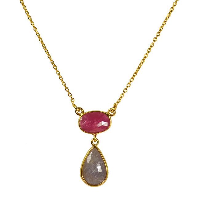 multi sapphire necklace