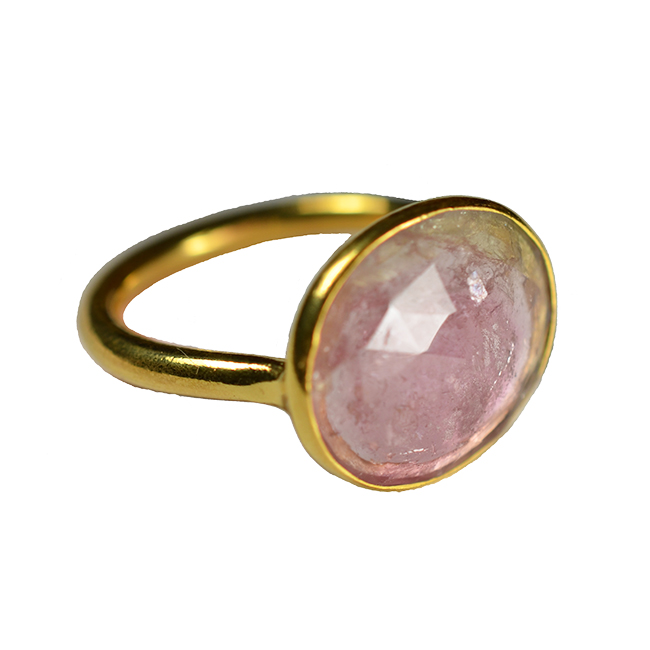 pink watermelon tourmaline ring tara