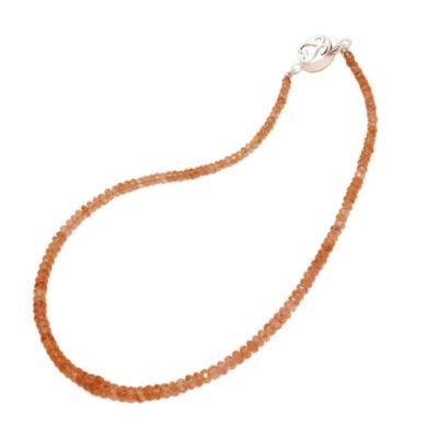 imperial topaz bead necklace sofia