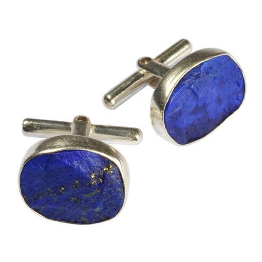 cufflinks lapis lazuli silver tallulah