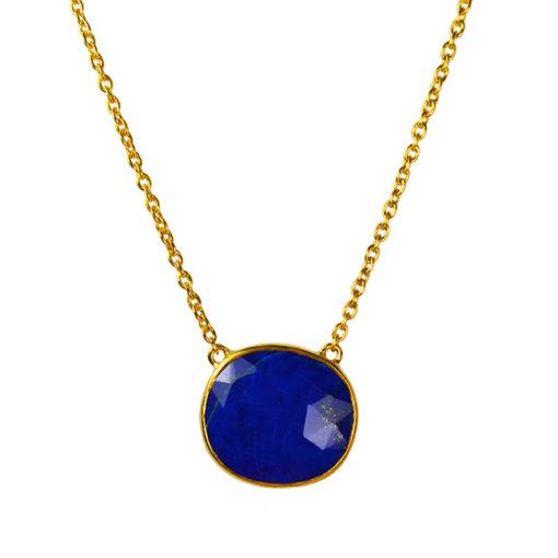 talitha lapis-lazuli-pendant necklace