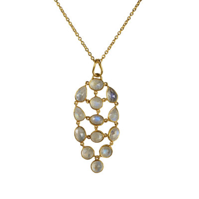 moonstone pendant necklace tara