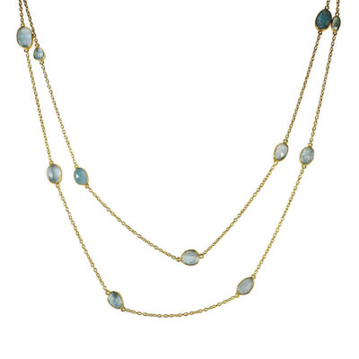 long aquamarine necklace tara