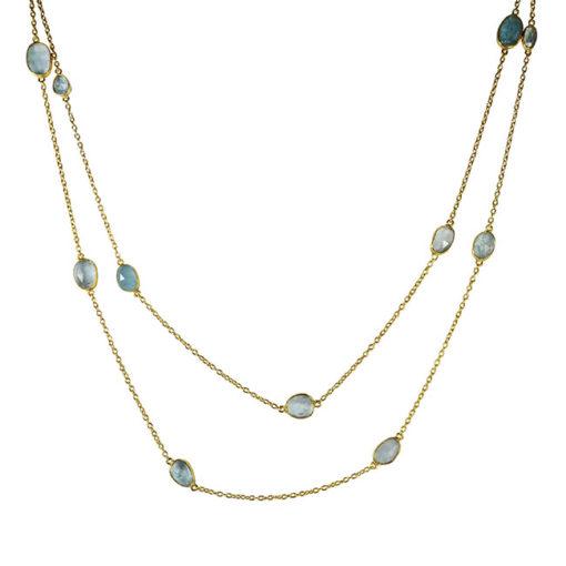 long aquamarine necklace tara
