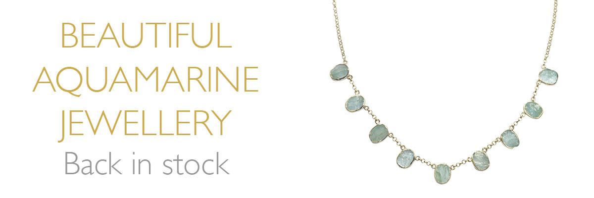 Beautiful Aquamarine Jewellery