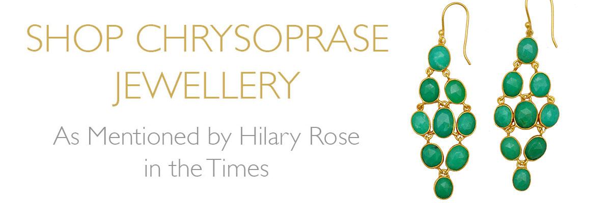 Shop Chrysoprase Jewellery