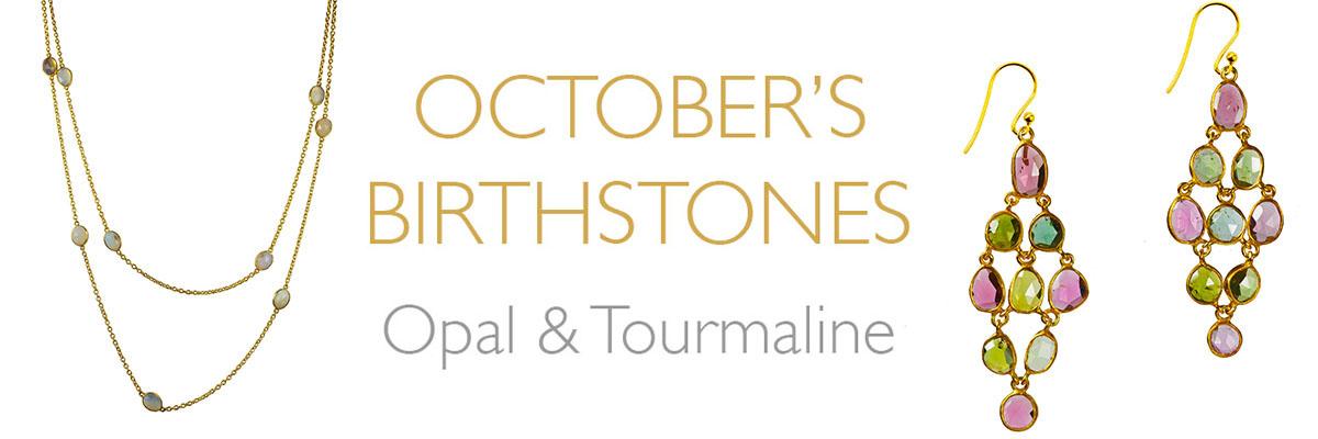 October's Birthstones
